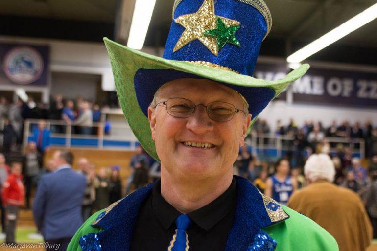Martin Hooymans, de gewaardeerde spiekert van ZZ Leiden. Foto: Marja van Tilburg.