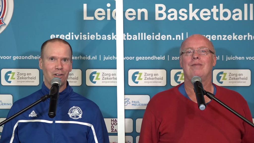 Arie in 't Veld (links) met medecommentator Martin Hoekstra
